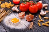 Italian Cuisine - Products For Cooking