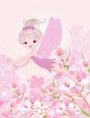 foto of pixie  - Illustration of cute Pixy fairy flying - JPG