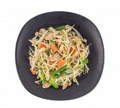 Stir Fried Bean Sprout With  Pork