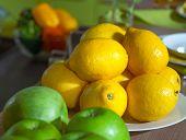 Lemons And Apples Kitchen Still Life