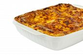 Lasagna In The Form Of Baking