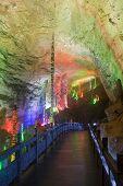 Landscape of karst cave