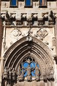 Entrance To The Cathedral In Albi, Close-up