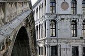 The Rialto Bridge in Venice, Italy