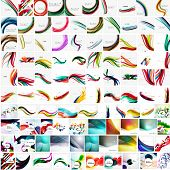 picture of futuristic  - Mega collection of geometric abstract backgrounds - JPG