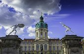 picture of palace  - Schloss Charlottenburg  - JPG