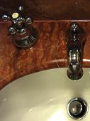Designer Tap And Sink Portrait