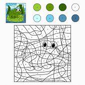 image of baby frog  - Game for children - JPG