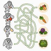 pic of maze  - Game for children - JPG