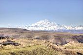 stock photo of mountain chain  - Mountain landscape - JPG
