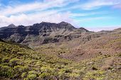 picture of volcanic  - Volcanic Rock Basaltic Formation in Gran Canaria Canary Islands - JPG