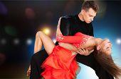 Salsa Dancing. poster