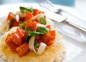 Tomato Salad On Toast