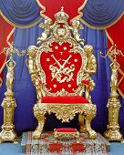 stock photo of throne  - king  throne - JPG