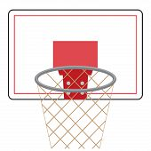 Постер, плакат: Basketball Board And Ring