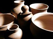 Pottery Closeup