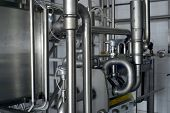 industrial stainless steel pipe work