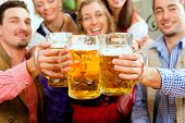 stock photo of stein  - Inn or pub in Bavaria  - JPG