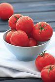 Fresh Wet Tomatoes