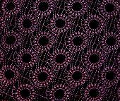 Pink Oval Pattern