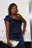 LOS ANGELES - 1 de novembro: Star Jones na seleção de ' Precious: baseado no romance 'PUSH' By Sapphire