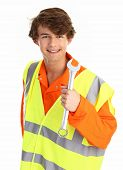 Workman With A Spanner
