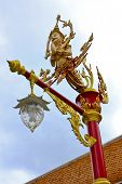 picture of faerie  - Faerie lamp at Wat Mahathat, Bangkok, Thailand.