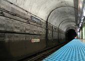 Chicago Subway Underground Train Station