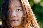 Asian Girl Portrait poster