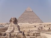 piremide Sphinx and Giza,
