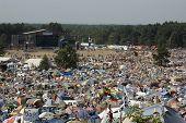 Kostrzyn, Poland - July 28: Przystane Woodstock Festival.