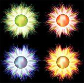 Sun,set icons