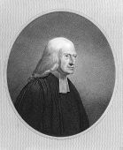 John Wesley (1703-1791). Engraved by J.Pofselwhite and published in The Gallery Of Portraits With Me