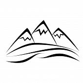 mountain poster