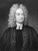 Jonathan Swift (1667-1745) Engraved by W.Holl and published in The Gallery Of Portraits With Memoirs