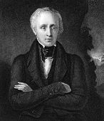 William Wordsworth (1770-1850). Engraved by J.Cochran and published in National Portrait Gallery Of