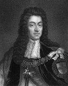 William III (1650-1702). Engraved by W.Holl and published in The Gallery Of Portraits With Memoirs encyclopedia, United Kingdom, 1833.