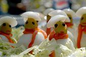 Marionetas de alimentos