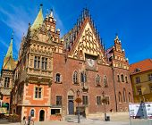 city hall of Wroclaw, Poland