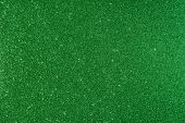 Shiny glimmering green texture poster
