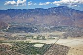 Palm Springs Downtown, Airport And San Jacinto Mountains
