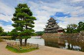 Matsumoto Burg In Matsumoto, Japan