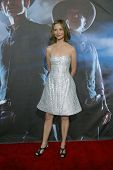 SAN DIEGO, CA - JULY 23: Calista Flockhart arrives at the world premiere of