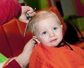Boy's First Haircut