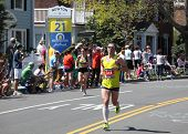 Boston Marathon 2012 Mile 21