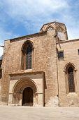 Valencia Cathedral And Almoina Square