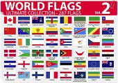 World Flags - Ultimate Collection - 287 flags - Volume 2