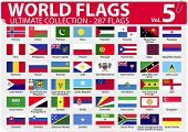 World Flags - Ultimate Collection - 287 flags - Volume 5