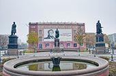 Schinkelplatz Square At Berlin, Germany