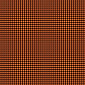 Black & Orange Checker Plaid Paper
